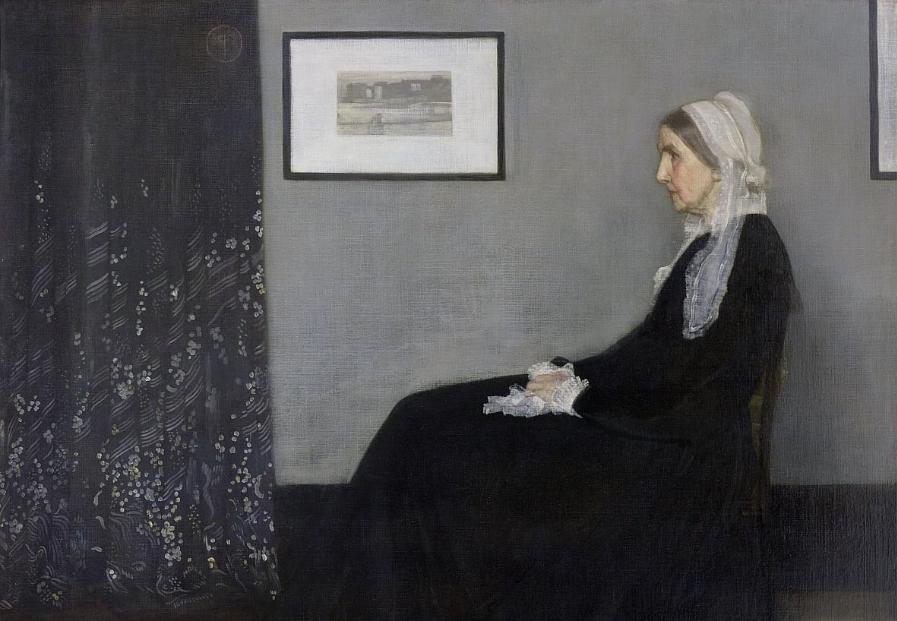 Kunstwerk-Titel Whistler's Mother - Kunstwerke und ihre Titel
